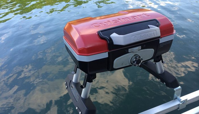 The Best Pontoon Boat Grill And Bracket For 2017 The Pontoon Authority